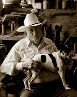 Buck Steiner, Capital Saddlery, Austin, Texas